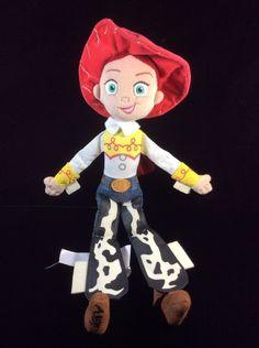 """Disney Store Toy Story Jessie Doll Rag Plush Soft Toy 16"""" Stuffed #Disney"""