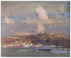Fowey and the Clouds by Fred Cuming