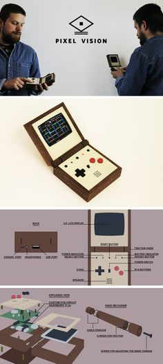 Pixel Vision _ The handmade portable game system by Love Hultén —Kickstarter