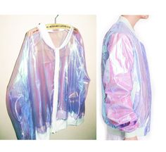 organza hologram transparent coat jacket sold by MoLa_MoLa. Shop more products from MoLa_MoLa on Storenvy, the home of independent small businesses all over the world.