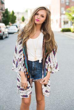 Summer kimono #swoonboutique