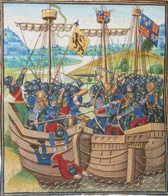 « Chroniques sire JEHAN FROISSART » Date d'édition :  1401-1500  Français 2643  Folio 388v
