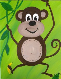 Monkey Friend Together, Group Of Friends, Big Little, Kids Events, Painting For Kids, Our Kids, Monkey, Birthday Parties, Symbols