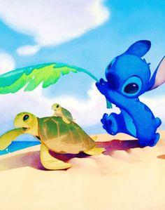 OMG Moana is like Stitch!!!!!