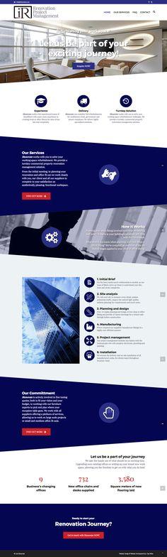 iRenovate Office Renovation Website.    Website Design & Development by 1 Day Webs (http://www.1daywebs.com)