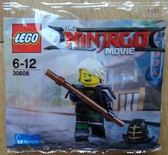 The LEGO Ninjago Movie : Premier polybag avec un code pour le jeu vidéo à venir: La commercialisation d'un jeu vidéo pour accompagner… #LEGO