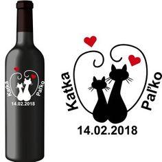 Svadobná etiketa Lily Wine, Drinks, Bottle, Drinking, Beverages, Flask, Drink, Jars, Beverage