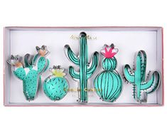 Cactus Cookie Cutters/ Cactus Party Cookies/ Wild One Party/ Cactus Cookie Cutter