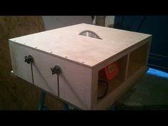 Como unir la sierra de calar a una mesa. Jigsaw table - YouTube