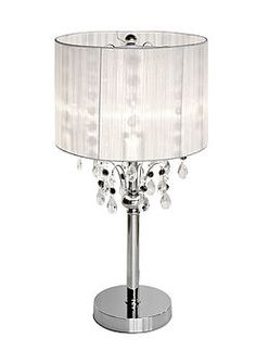 Shaded Chandelier Lamp