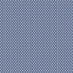 Serenity Collection - White Polka Dots on Periwinkle by FabScraps Fabrics…