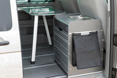 Integration des original VW-Campingtischs
