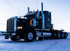 Heavy Duty Big Rig on the Ice Road.