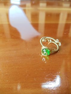 The Legend of Zelda Kokiri's Emerald Ring. $25.00, via Etsy.