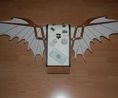 DIY Make Your Own Steampunk Auto-Folding Wings