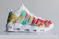 The Nike Air More Uptempo EU City Pack is releasing on exclusively at Foot Locker. A wider release is set for For full details on the London, Paris, and Milan colorways, tap the link in our bio. Best Sneakers, Sneakers Fashion, Fashion Shoes, Sneakers Nike, Dope Fashion, Runway Fashion, Fashion Accessories, Sports Shoes, Basketball Shoes