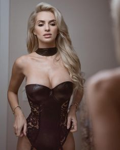 TRAINING MOTIVATION:  DOMINATRIX STYLE LEATHER AND LACE LINGERIE CORSET On Fitness Model Leanna Bartlett : Health Exercise #Fitspiration #Fitspo FitFam - Crossfit Athletes - Muscle Girls on Instagram - #Motivational #Inspirational Physiques - Gym Workout and Training Pins by: CageCult