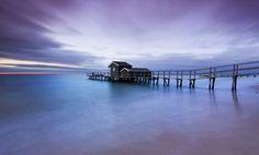 Shelly Beach Dusk by Nick Skinner, via 500px