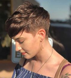 60 best short haircuts for Short Pixie Hairstyles Haircuts Short Very Short Haircuts, Thin Hair Haircuts, Short Hairstyles For Women, Short Hair Cuts, Pixie Cut Thin Hair, Pixie Haircut Thin Hair, Side Haircut, Cut Hairstyles, Hairstyle Short