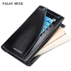 FALAN MULE Hot Sale Vintage Wallet Brand Men Purse Genuine Leather Wallet Men Male Wallet Fashion Purse Coin Purse For iPhone 7S (32681867603)  SEE MORE  #SuperDeals