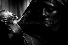 fine art sculpture monochrome photographic by BlackFedoraArtnStuff, $32.00