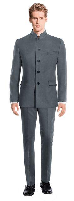 Blue Mao Suit