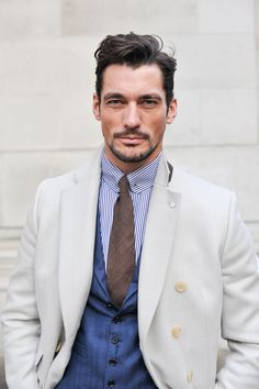"Vogue.com's Top 10 Male Models of All Time - #2 out of 10 - Much of David Gandy's modeling career has been headlined by his numerous appearances in Dolce & Gabbana campaigns, including lucrative fragrance bookings. (""Light Blue"" features the model on a boat sailing over electric cyan water. His eyes match. #swoon.) He's even produced a calendar for the brand, shot by Mariano Vivanco."