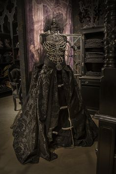 Hauntingly Beautiful - Gothic-Glam Mannequin - from Roger's Gardens/Halloween 2014