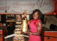 Viola Davis Gets a Surprise Party for Her 50th Birthday