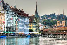 Photo of the Week: Old Town Luzern, Switzerland
