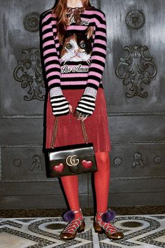 Gucci Pink cashmere and wool sweater