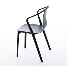 Products we liek / Chair / Black / Cuves / Ronan and Erwan Bouroullec / Furniture / at takeovertime