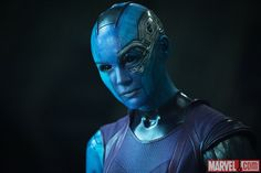 Karen Gillan stars as Nebula in Marvel's Guardians of the Galaxy. Get tickets now: http://fandan.co/1thBrQi
