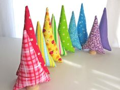 'fairy forest trees' by QuietudeQuilts on etsy $25.00