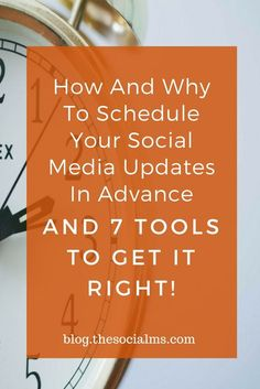 For more social media marketing success you should consider scheduling social media updates. Keep your accounts active for better results with these tools, social media marketing tips, social media scheduling, social media activity, blogging tips