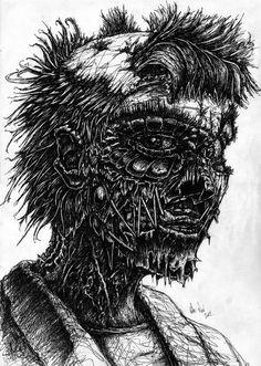 ZombieLady01 by TrevorDaveSon.deviantart.com on @deviantART