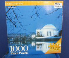 Jigsaw Puzzle Jefferson Memorial Keeping Watch 1000 piece 2008 #CreativeEdge