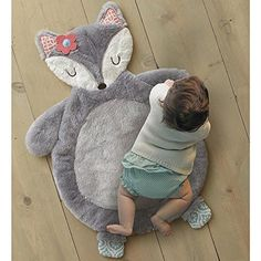 Girl Woodland Nursery Levtex Baby Fiona Fox Coral And