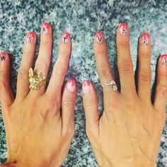 Check out this easy nail art tutorial at http://dropdeadgorgeousdaily.com/2015/11/beauty-how-to-simple-stripe-nail-art/