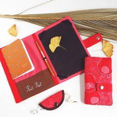 Quilted iPad mini cover ipad case organizer by KusKatStudio