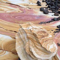 Nature's artwork on display! The Painted Cliffs, Maria Island (Tasmania, Australia) Australia Travel, Western Australia, Queensland Australia, Tasmania Road Trip, Tasmania Travel, Day Tours, Amazing Nature, Land Scape, Places To See