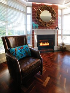 Scope 700 Grate by Eco Smart Fire on Gilt Home