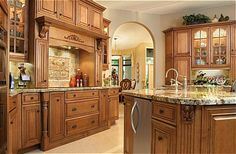 Cabinetry by Diamond - Selena Maple Kitchen Cabinets