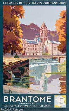 Bran tome ~ Aquitaine _______________________________ Chemins de Fer de Paris a Orléans et du Midi