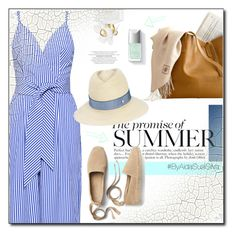 """""""Spring/ Summer Dress"""" by aidasusisilva ❤ liked on Polyvore featuring Finders Keepers, Marc Jacobs, Gap and Maison Michel"""