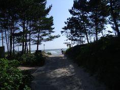 Auf dem Weg zum Proraer Strand
