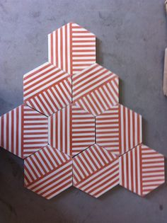 new concrete floor tiles for housefiftytwo.com designed by Erin Adams -★-