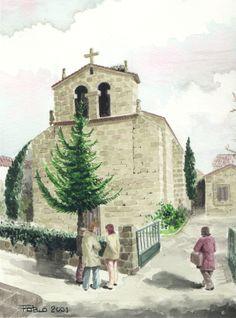 Iglesia de San Bartolomé en Fresnedillas de la Oliva (Madrid)