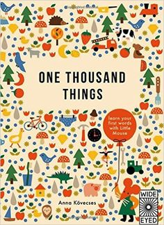 One Thousand Things (Wide Eyed): Amazon.es: Anna Kövecses: Libros en idiomas extranjeros