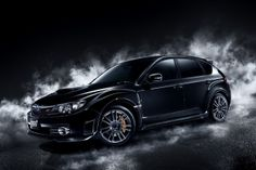 Subaru Impresa Wrx Black Wallpaper